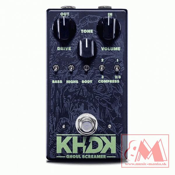 KHDK Ghoul Screamer - gitarový overdrive efekt