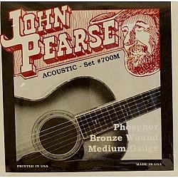 John Pearse 700M - Struny na akustickú gitaru, Ph. Bronze 013/056