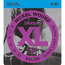 D´Addario EXL120 - struny pre el.gitaru