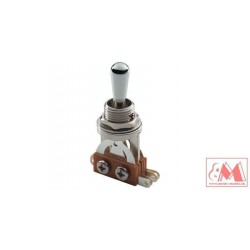 MEC M 80040/C, 3-cestný toogle switch, chrómový